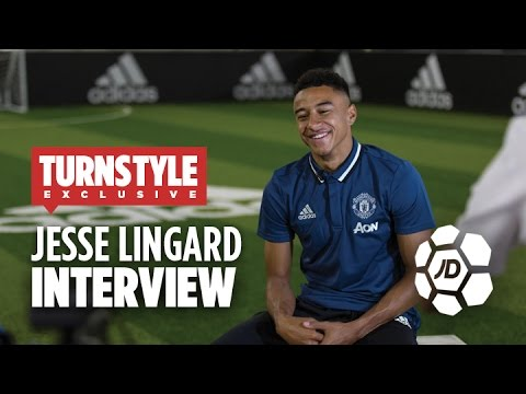 Jesse Lingard Talks Manchester United...