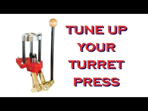 Lee Classic Turret Press tune up, maintenance and lube...primer lever fix!