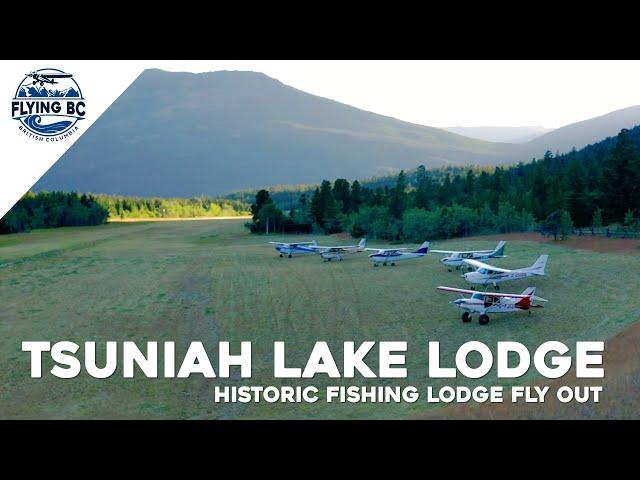 Tsuniah Lake Lodge Fly Out