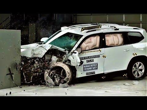 2018 VW Volkswagen Atlas Crash Test & Ratings - Top Safety Pick