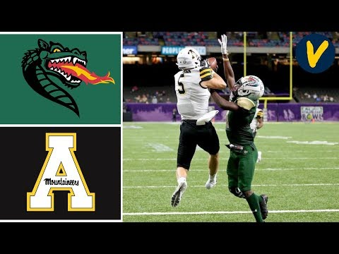 #20 App State Vs UAB Highlights   2019 New Orleans Bowl   College Football