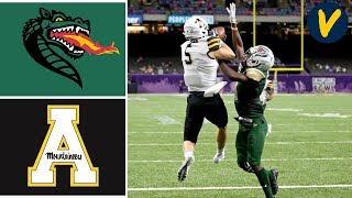 #20 App State vs UAB Highlights | 2019 New Orleans Bowl | College Football