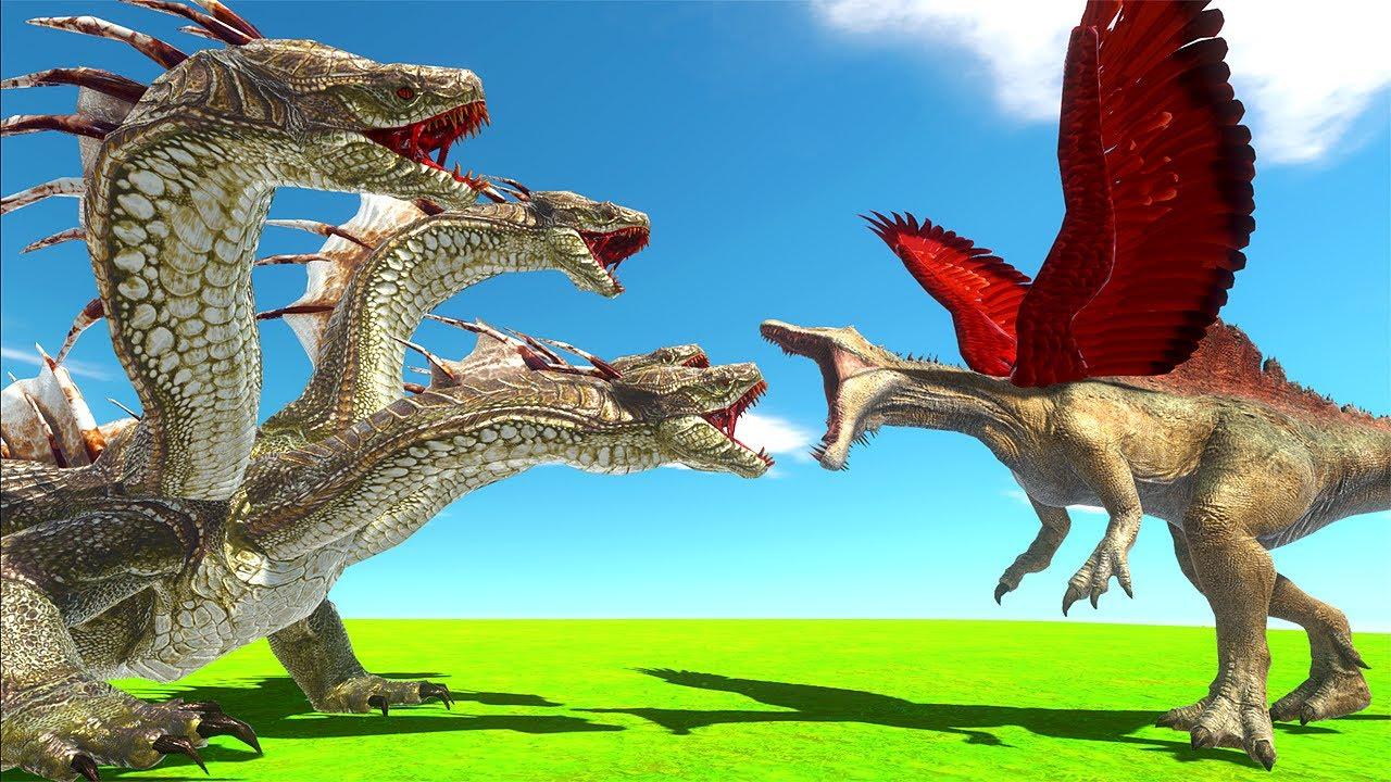 NEW Hydra Unit & WINGS - Animal Revolt Battle Simulator