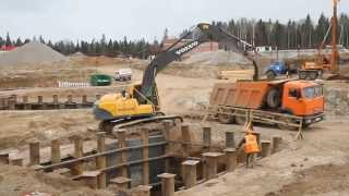 видео Установка оборудования на фундаменте.