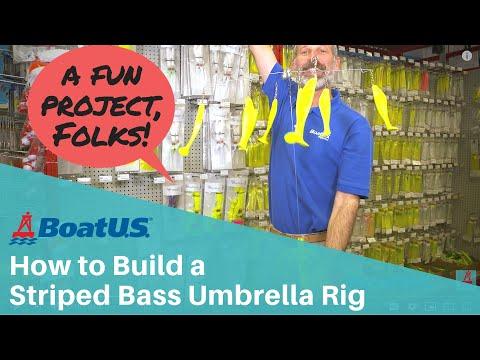 How To Build A Striped Bass Umbrella Rig/Alabama Rig | BoatUS