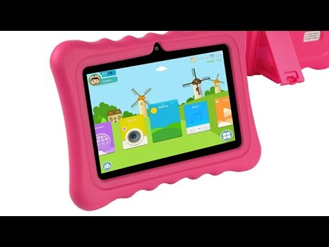 KOCASO [7 INCH] Quad Core Review [Android 4 4 KitKat] Kids HD Tablet