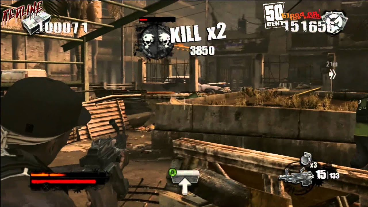 50 Cent Blood On The Sand Gameplay Xbox 360 Hun Youtube