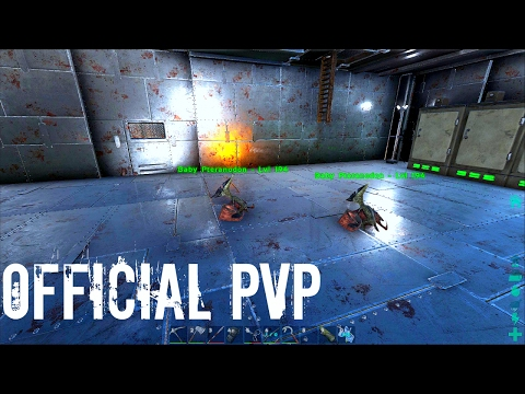 PTERANODON TWINS RAISING w/ New Greenhouse Set Up - Official PVP (E53) - ARK Survival