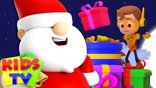 Lonceng jingle | Sajak natal | Kartun untuk anak || Kids Tv Indonesia | Lagu anak