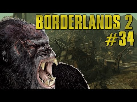 BORDERLANDS 2 [HD] #34 - King Kong! ► Let's Play Together Boarderlands 2