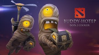 Buddy-Hotep! Dota 2 Courier