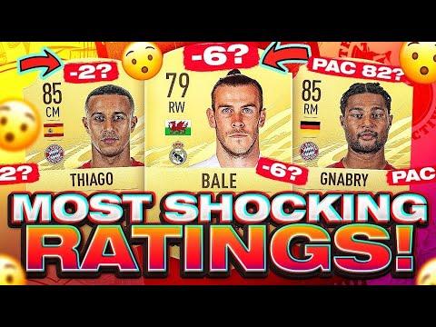 FIFA 21 Most Shocking Player Ratings! thumbnail