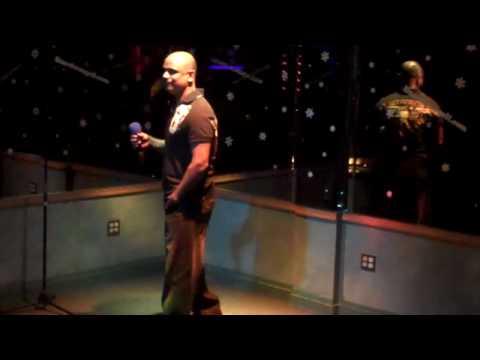 "Lizard Lounge Long Island Karaoke AJ. ""Beautiful""  Akon"