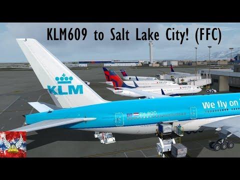 | P3Dv4.1 | KLM609 to Salt Lake City! FFC |