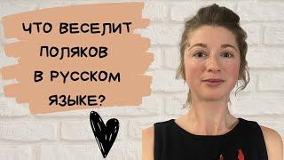 Что веселит поляков в русском языке?