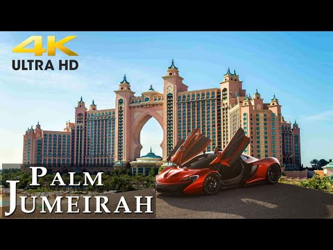 {AMAZING} Palm Jumeirah 🇦🇪 by Drone [4K UltraHD] 2021 | Dubai's Most Travel Attraction Atlantis UAE
