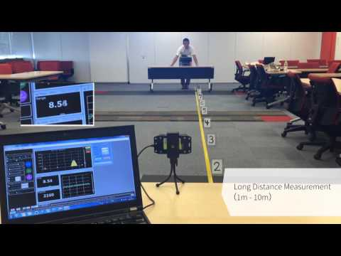 24GHz Radar (BGT24MTR11) Demonstration with SDH's Algorithm