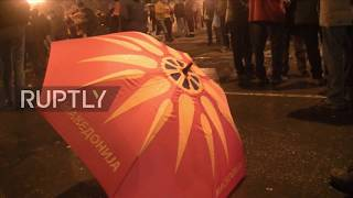Macedonia: Parliament votes in favour of 'Northern Macedonia' name-change deal with Greece