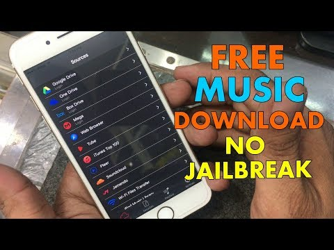 How To Download Free Music/Mp3 &Videos On iphone iOS 9 / 10 - 10.3.3 / 11 NO Jailbreak 2017