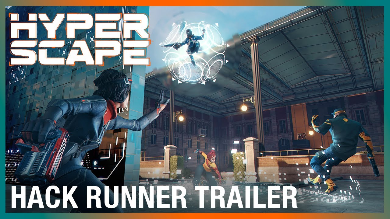 Hyper Scape: Limited-Time Game Mode | Hack Runner Trailer | Ubisoft
