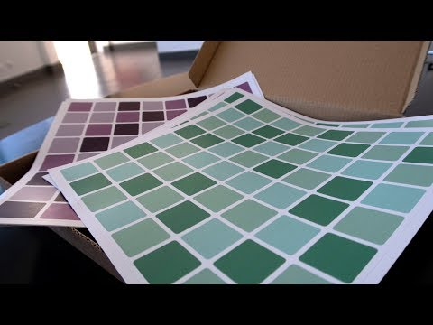 How to apply Tile Stickers - Moonwallstickers