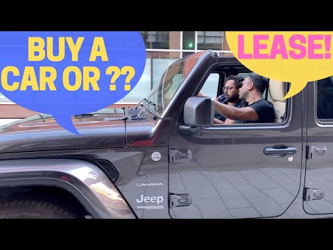 Why Canadians LEASE, NOT Buy A Car - Long Term Car Lease Options Available In USA & Canada