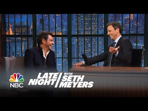 Eugenio Derbez on Playing Seth in Spanish - Late Night with Seth ...