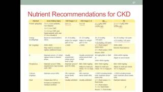 MNT CKD Part 3 Nutrition Therapy