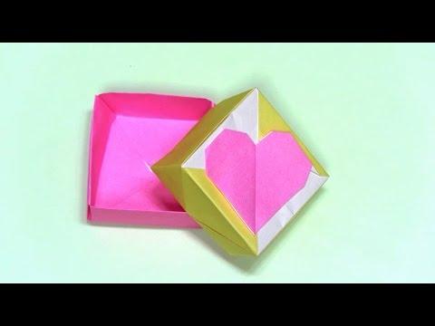 簡単 折り紙:折り紙 ハート 作り方-youtube.com