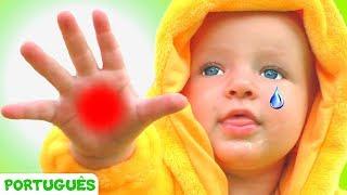Canção de Boo Boo - canção para crianças   Canções infantis   Katya e Dima