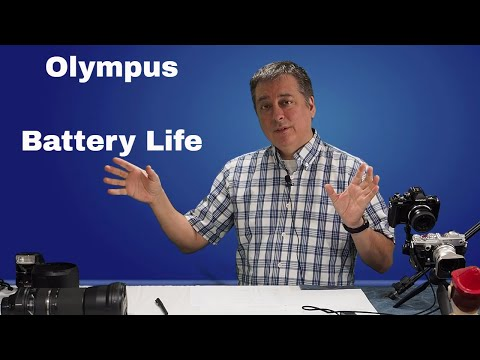 Olympus Tips: Extending Battery Life and the Battery Icon ep.54