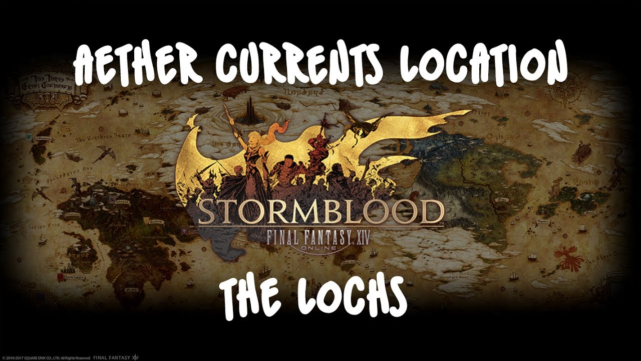FFXIV Stormblood - Aether Currents | The Lochs [Visual Guide]