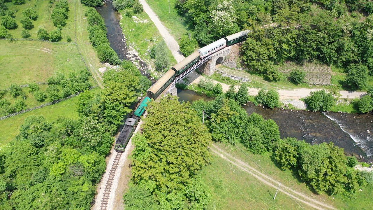 Steam weekend on the Rodope mountain railway