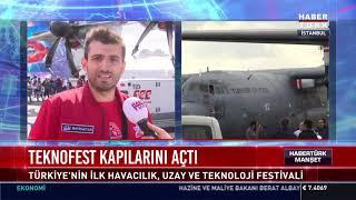 Teknofest kapılarını açtı - Selçuk Bayraktar - Sümeyye Erdoğan Bayraktar