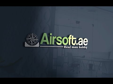 Airsoft game in Sharjah Painball Park 2017-10-07