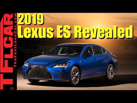 Live: 2019 Lexus ES Revealed!