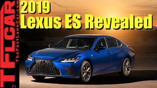 Live: Lexus Reveals the 2019 ES 350 and 350 F Sport in California - TFLfront Row