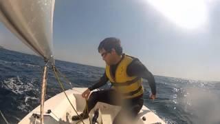 Sailing in Mallorca - Cala Nova March 2012