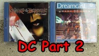 Meine Sega Dreamcast Spiele Sammlung Part 2 - Deutsch