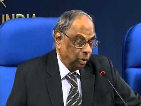C Rangarajan on Indian economy