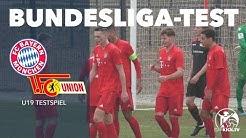 Starker Auftritt der Roten | FC Bayern München U19 - 1.FC Union Berlin U19 (Testspiel)