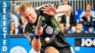 Mattias Falck vs Timo Boll (TTBL Selected)