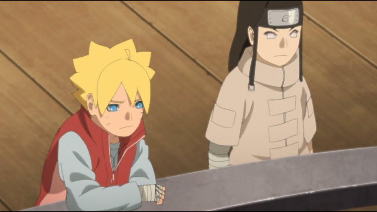 Boruto Naruto Next Generations Advice From Uncle Neji Youtube