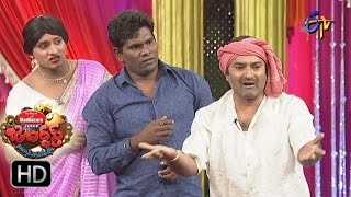 Chammak Chandra Performance | Extra Jabardasth | 25th November 2016 | ETV  Telugu