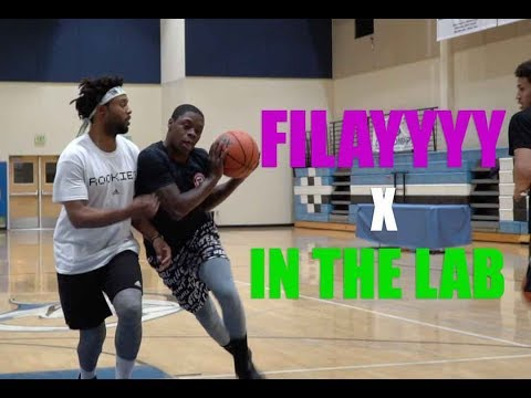 Jesse Jones AKA FILAYYYY & D1 Player Get IN THE LAB With Devin Williams