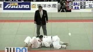JUDO 2002 All Japan: Yasuyuki Muneta 棟田 康幸 (JPN)