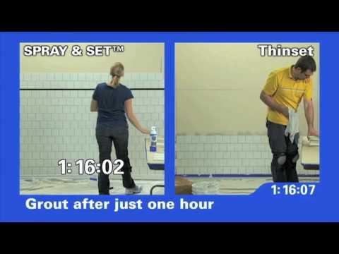 Homax Spray & Set - Consumer - 10 min.