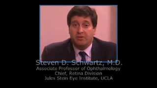 Depression because of Macular Degeneration -- Steven D Schwartz