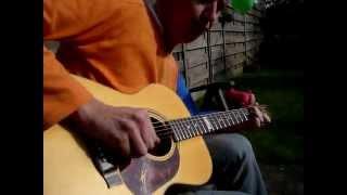 Key to the higway free improvisation Eric Clapton on Maton Guitars Tommy Emmanuel signature