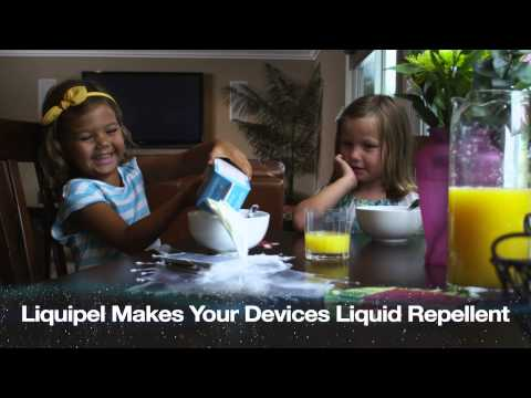 Liquipel 'Skins' provide impact resistance without the bulky case